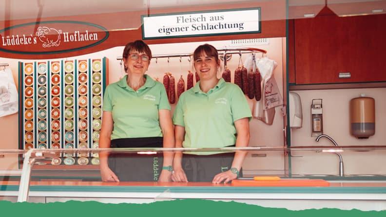 Verkaufsstelle Wochenmarkt Lüddecke