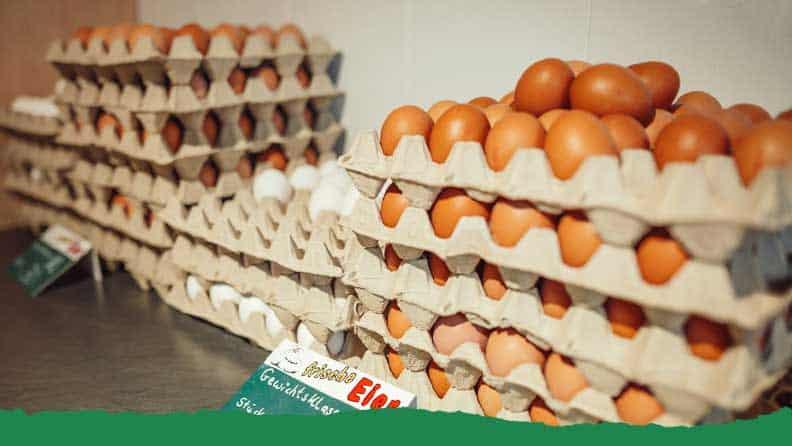 Eierverkauf